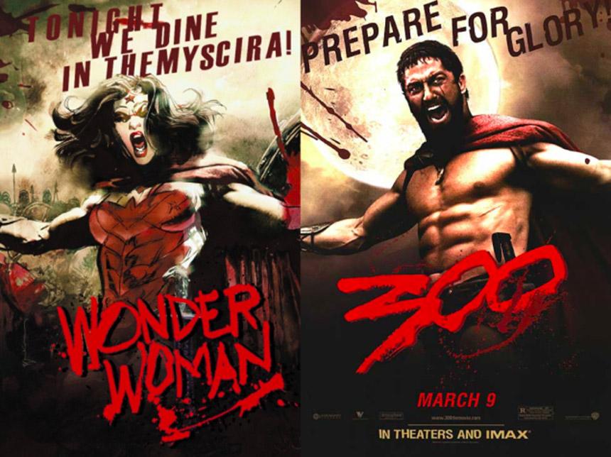 wonder woman - 300 cover