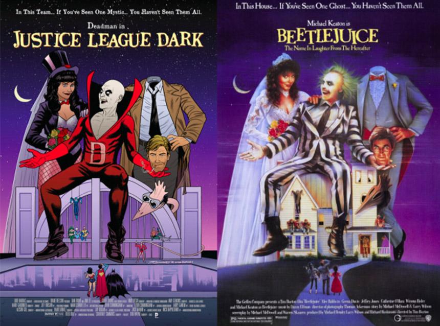 justice league dark - beetlejuice cover