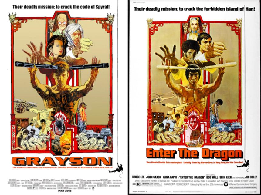 grayson - enter the dragon cover
