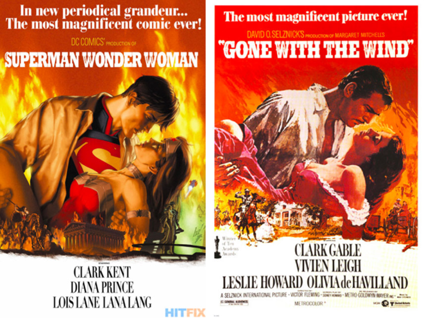 super wonder woman gone with the wind