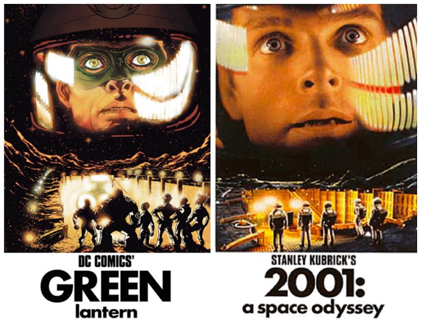 green lantern - 2001 cover
