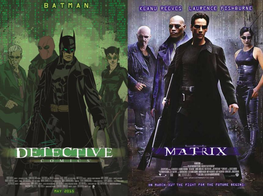batman -  matrix cover