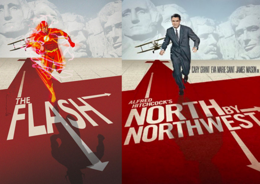 the flash - north by northwest cover