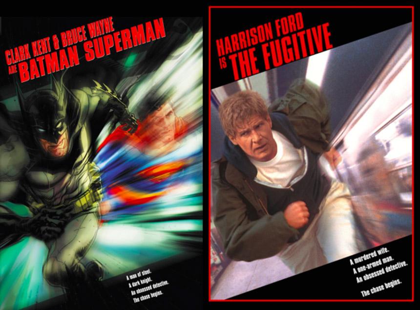 batman superman - the fugitive cover