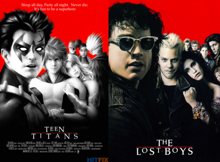 teen titans - the lost boys cover