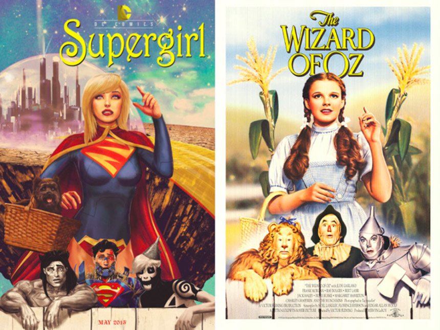 super girl - the wizard of oz cover