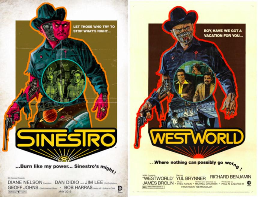 sinestro westworld cover