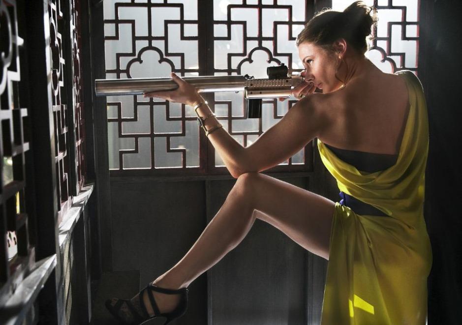Rebecca Ferguson como Ilsa Fust